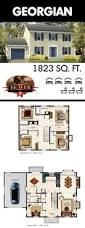 7 best four square floor plans images on pinterest square floor