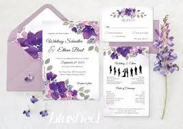 lavender wedding invitations great lavender flower wedding invitations wedding ideas