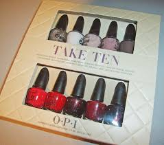 obsessive cosmetic hoarders unite opi launches two new gift sets