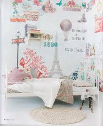 Wallpaper For Bedrooms Walls Paris Themed U0027s Room Love The Wall Paper And Lady Like Bed