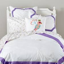What Is A Duvet Insert Bordeaux Purple Border Bedding The Land Of Nod