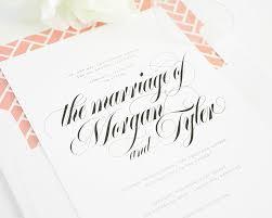 Calligraphy Wedding Invitations Top 10 Wedding Invitations With Script U2013 Wedding Invitations