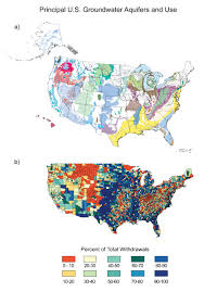 Arizona Aquifer Map by Water National Climate Assessment