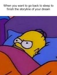 the simpsons meme finish dream on bingememe