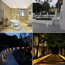 kitchen plinth lights lot 10 4500k led deck plinth lights 32mm white lamp waterproof