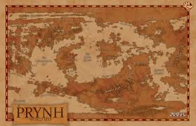 World Map Rug by Fantasy World Of Prynh World Map By Echdesigns On Deviantart