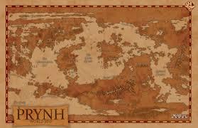 World Map Generator by Fantasy World Of Prynh World Map By Echdesigns On Deviantart