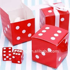 Wedding Candy Boxes Wholesale Red Dice Favor Boxes Wholesale Price Cb 182 Buy Wedding Favor
