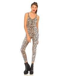 cheetah print jumpsuit buy motel unitard jumpsuit in at motel rocks motel rocks