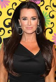 kyle richards hair extensions 8 hot real housewives hairstyles ok magazine