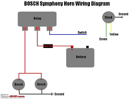 horn relay simple wiring for horn relay diagram wiring saleexpert me