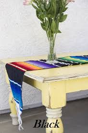 table runner mexican serape blanket table runner mex