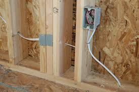 electrical outlet box install electric box shed electrical
