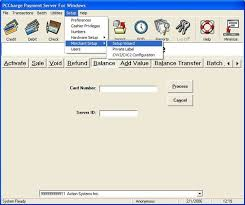 gift card software secure payment server sps interface setup