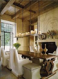 Dining Room Candle Chandelier Fabulous White Tealignt Hanging Candle Chandelier In The Dining