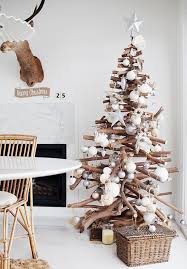 Branch Christmas Tree With Lights - stacked branch christmas tree hupehome