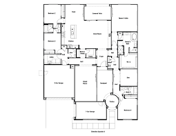 New Homes Floor Plans Olympus Floor Plan At Eastmark Summit Collection In Mesa Az