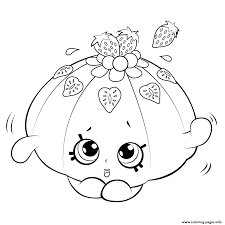 cute fruit jello shopkins season 5 coloring pages printable