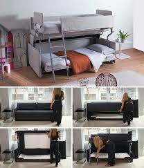 sofa becomes bunk bed 13 amazing exles of beds designed for small rooms contemporist