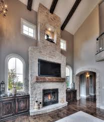 fireplace ideas with stone stone veneer fireplace ideas that will warm up your home