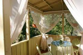 screen porch with mosquito netting outdoor curtains gallery 6 of