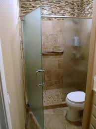 Etched Shower Doors Bathroom Excellent Bathroom Decoration Using Brown Glass
