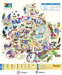Washington Dc Zoo Map by