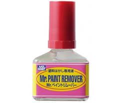 mr hobby t114 mr paint remover 40ml from statik models uk