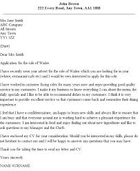 waitressing cover letter awesome waitressing cover letter 52 for resume cover letter with
