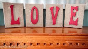 Burlap Home Decor Ideas Diy Burlap Love Letters Pasta And A Tool Belt Valentines Loversiq