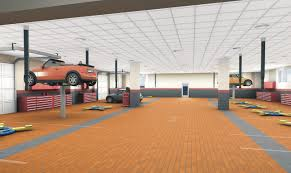car service center floor plan floorplan main line mini