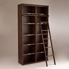 Mainstays 5 Shelf Bookcase Alder Unique Library Style Bookcase With Ladder 73 In Mainstays 5 Shelf