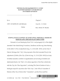 8 25 14 stipulated joint final pretrial order by city and certain