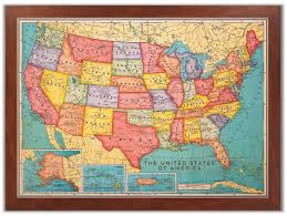 map usa framed amazoncom executive us push pin travel map with black frame and