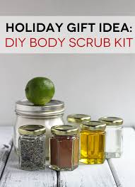 gift ideas for kitchen gift idea diy scrub kit in sonnet s kitchen