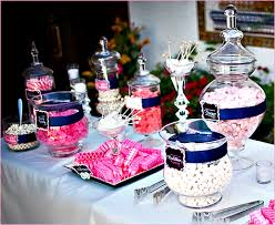 Pink And White Candy Buffet by Sweet U0026 Sparkly Wedding Candy Buffet Pink And Navy Hostess
