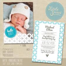 baby announcement cards free 41 best birth announcements images on