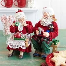 possible dreams santas santa kittens and cocoa possible dreams christmas figurine