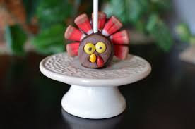 thanksgiving turkey cake pops butteryum