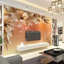 Designer Bedroom Wallpaper Custom Luxury Wallpaper Flowers Photo Wallpaper Silk Wall