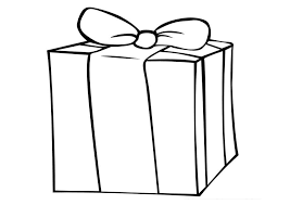 present coloring pages birthday presents coloring christmas