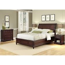 Nightstand Size by Lafayette King Sleigh Bed Nightstand And Chest Homestyles