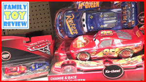 new cars 3 toys r us toy hunting fabulous lightning mcqueen 2 pack