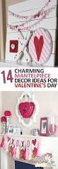 valentines home decorations 14 charming mantelpiece decor ideas for valentines day