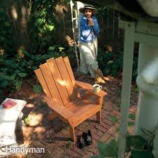 Free Wood Outdoor Chair Plans by 15 Free Adirondack Chair Plans To Build At Home