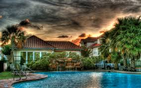 beautiful pools home decor waplag houses with amazing pool green