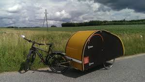 micro mobile homes homemade teardrop bicycle camper trailer bicycle pinterest