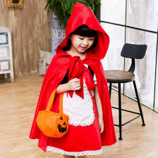 discount little red riding hood costume kids 2017 little red