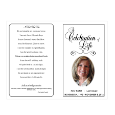 Templates For Funeral Program 1000 Images About Memorial Legacy Program Templates On Pinterest