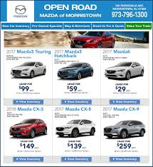mazda specials open road mazda of morristown new mazda dealership in morristown